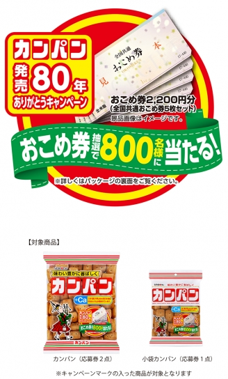 カンパンキャンペーン詳細