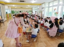 幼稚園でのかにぱん教室